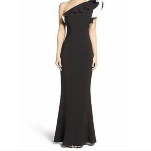 Maria Bianka Nero black and white gown sz 6